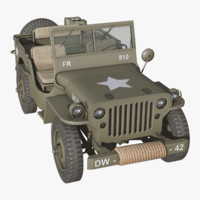 Willys Jeep PBR