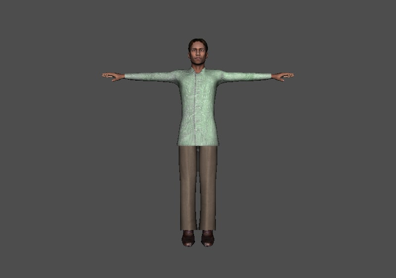fbx indian character