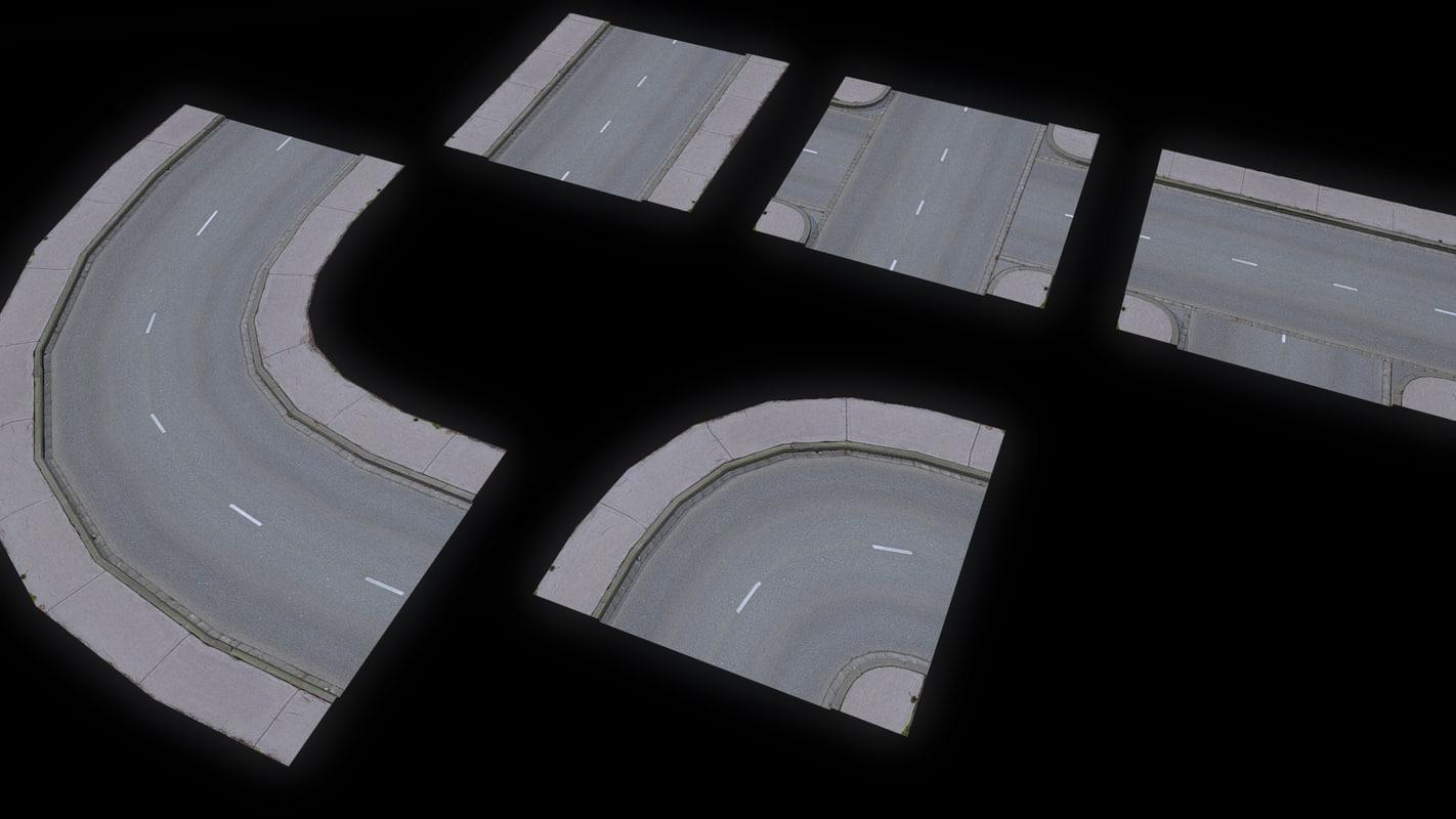 3d model road network