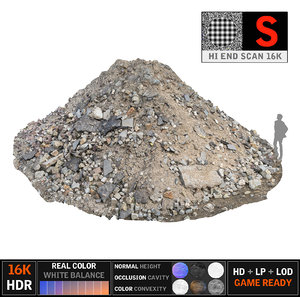 derbis heap 16k 3d model