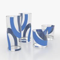 3d model drink glass