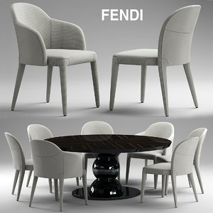 chair fendi audrey max