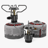 portable camping gas stove 3d max