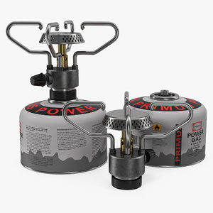 portable camping gas stove 3d max