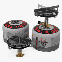3d camping gas stove