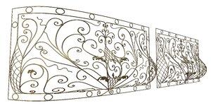 architectural balcony 3d obj