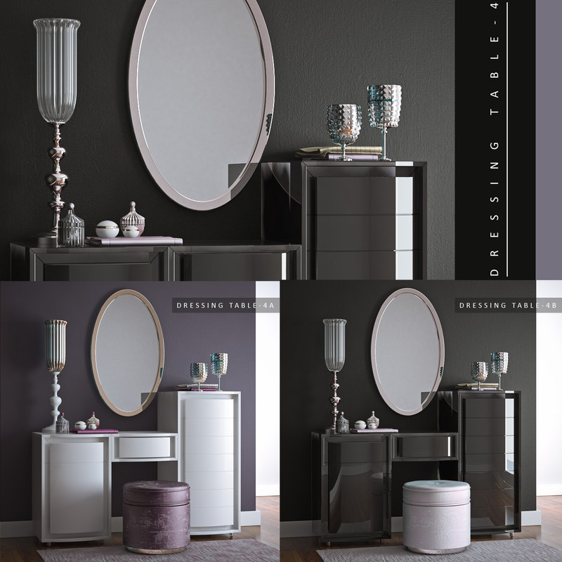 3d dressing table 4 model