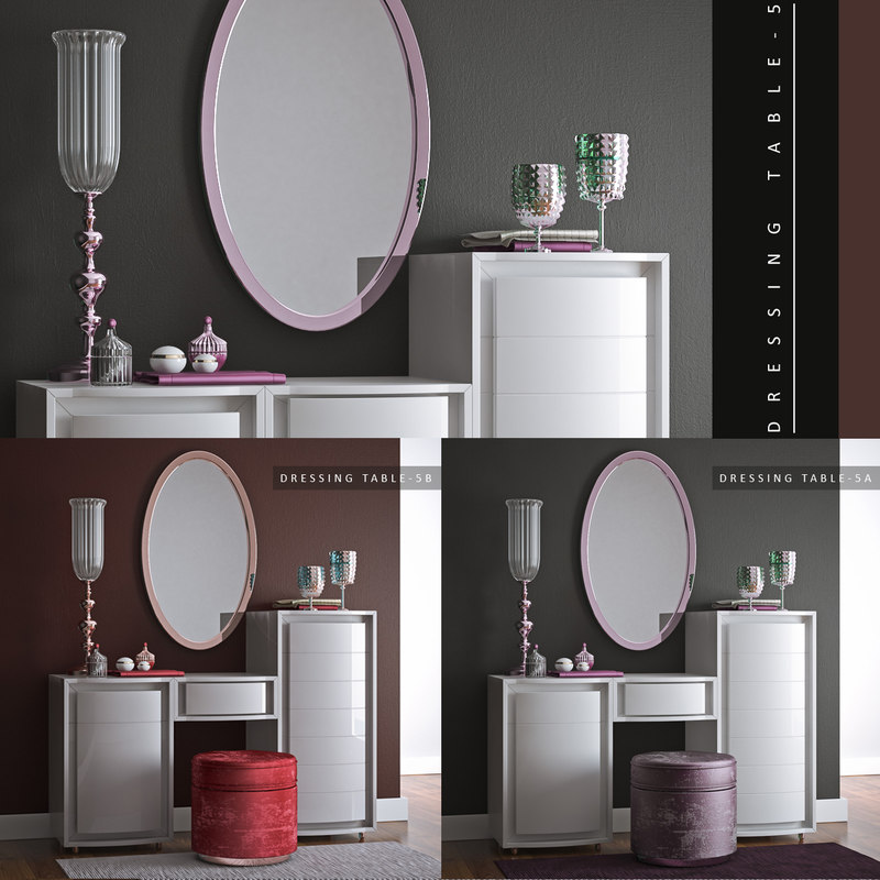 3d dressing table 5 model