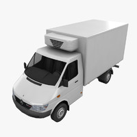 Mercedes Sprinter Fridge Truck