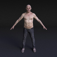 Male Model #14 - Rigged