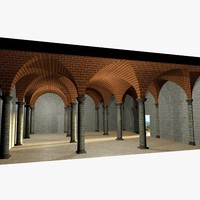 romanic vaulting simple column wrl