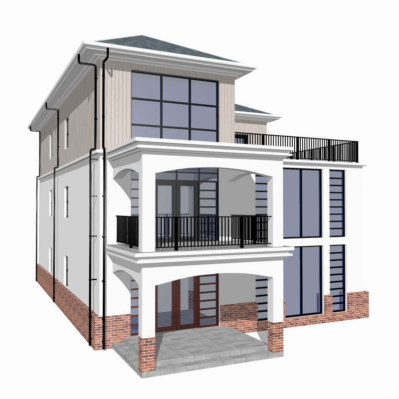 obj townhouse designed