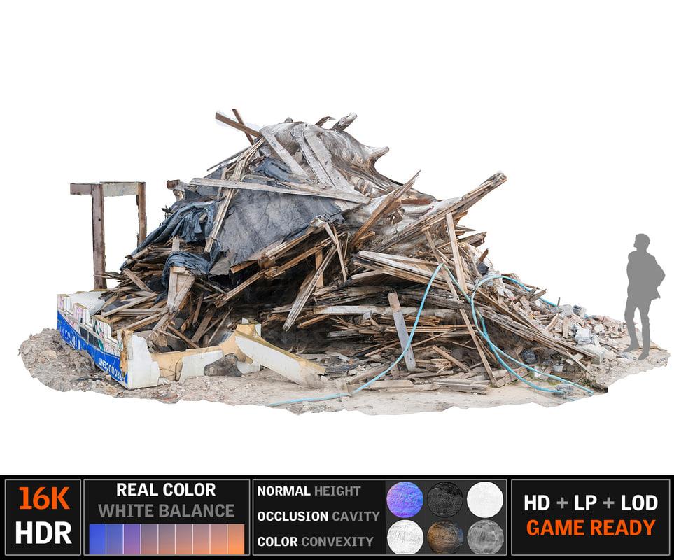 demolished building ultra hd max