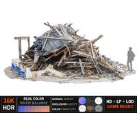 Demolished building Ultra HD 16K (2)