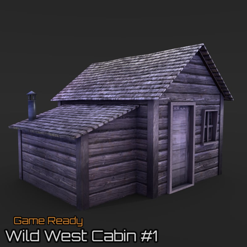ready cabin house 3ds