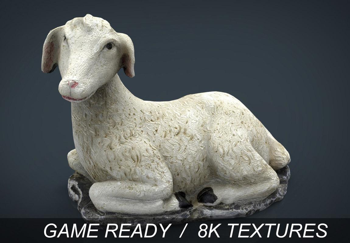 sheep native obj