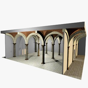 romanic vaulting column spacings max