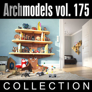 3d archmodels vol 175