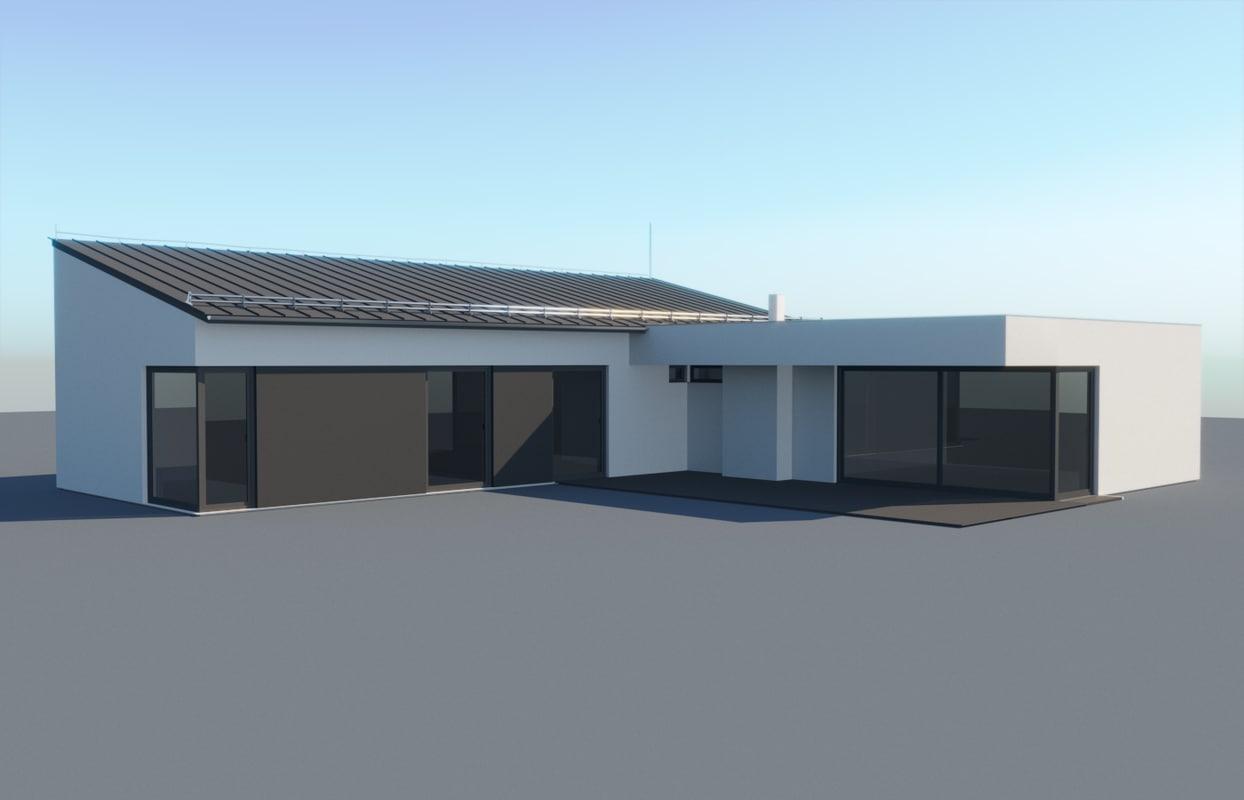 3d house 5 model