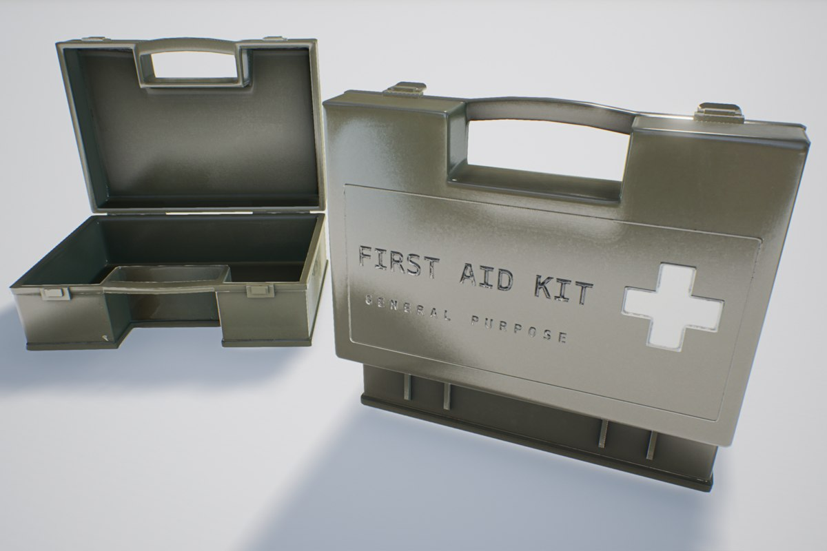 Military First Aid Kit 1 Plus 1 PBR Pack