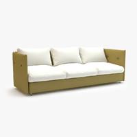 3d roda double sofa 001