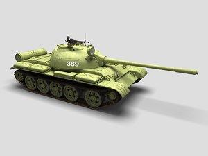 t-55 tank 3d max