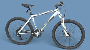 realistic mountain bike 3d max