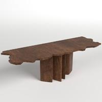 table desk 7 3d model