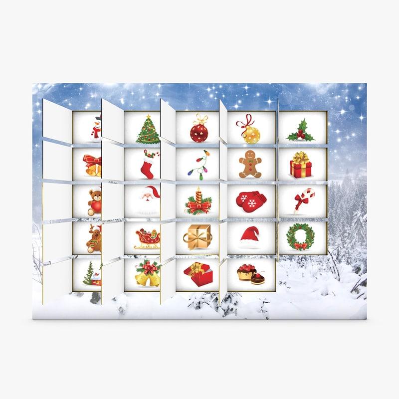 3ds christmas advent calendar