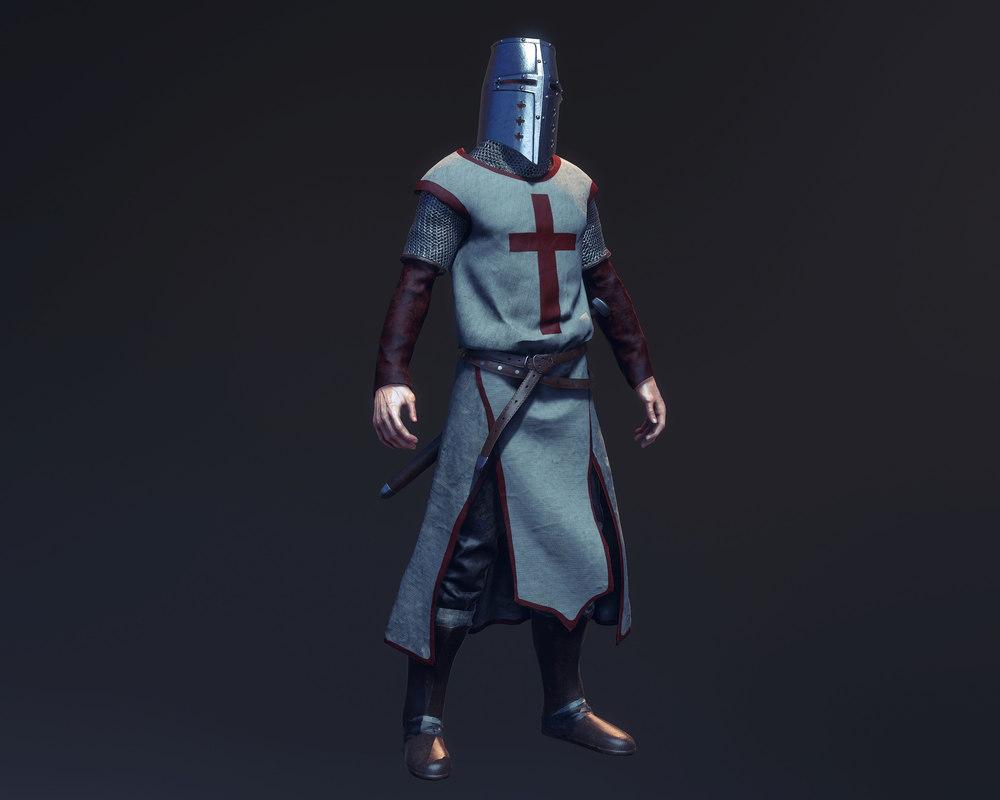 3d model realtime medieval