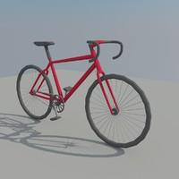 Lowpoly Bike