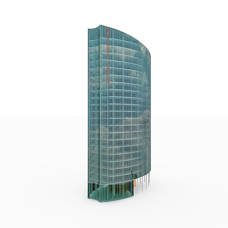 city office building 3d model