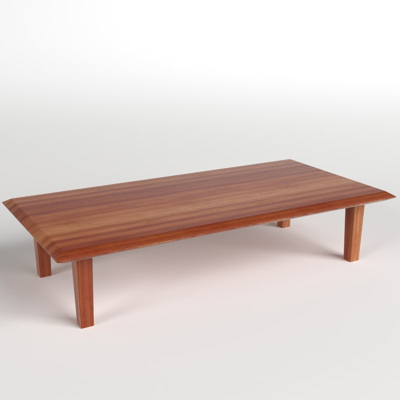 3d model table desk 9