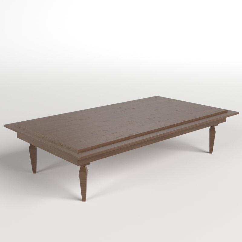 3d model table desk 10