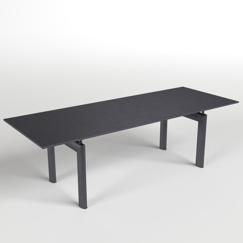 3d model table desk 12