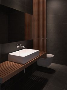 modern bathroom interior 3d model
