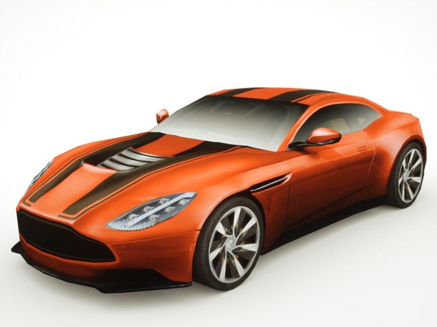 3d generic supercars colors car