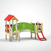 3d playground child