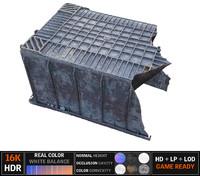 garbage 8k 3d model