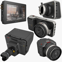 blackmagic video assist 3d model