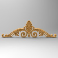 3d model decor element stl cnc
