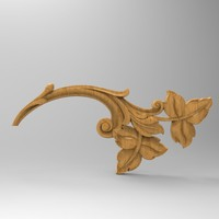 3ds decor element stl cnc