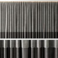 3d model curtain modern interior