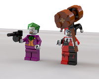 Lego Joker and Harley Quinn