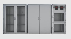 metal cabinets obj