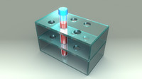 3d model blood sample