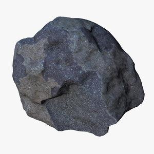3d max rock scan