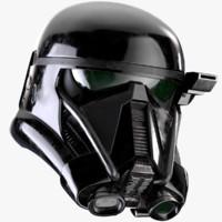 death trooper helmet 3d model