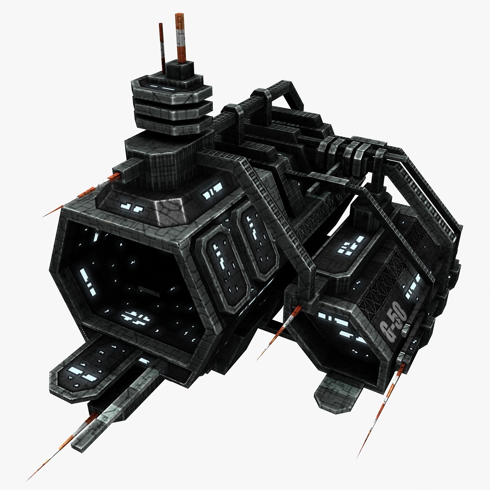 3d space station