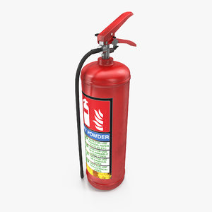c4d red extinguisher